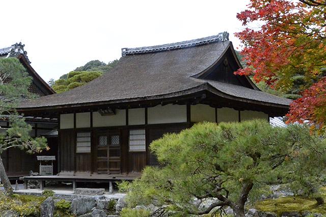 銀閣寺・本堂