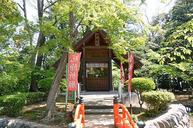 玉村八幡宮・厳島神社