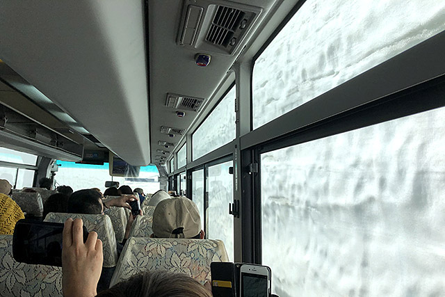 立山高原バス・車窓