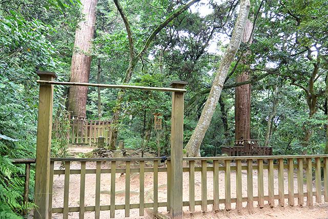 八重垣神社奥の院・佐久佐女の森