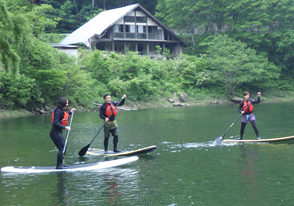 SUP(サップ:Stand Up Paddleboard)バスツアー