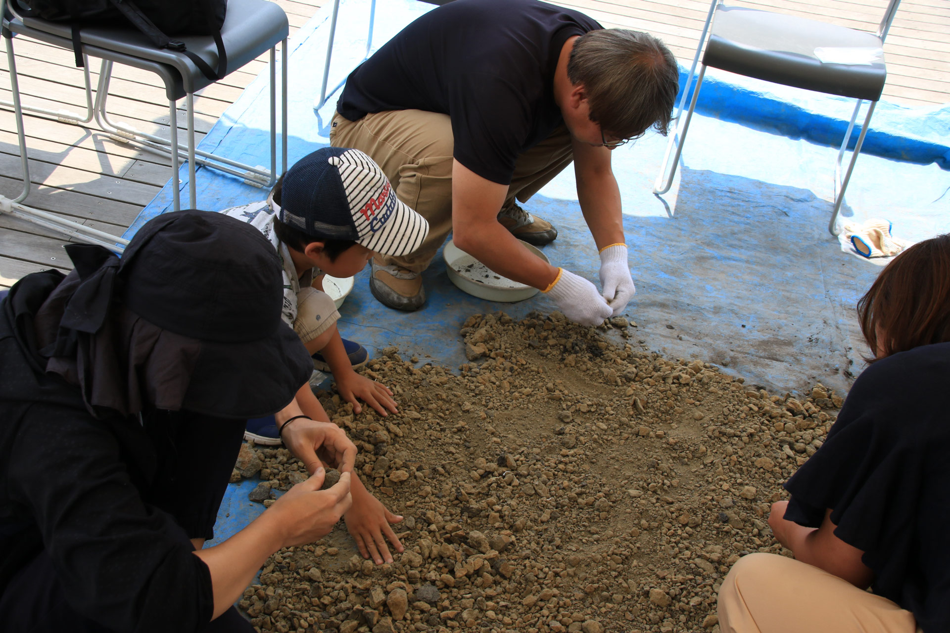 化石発掘体験バスツアー