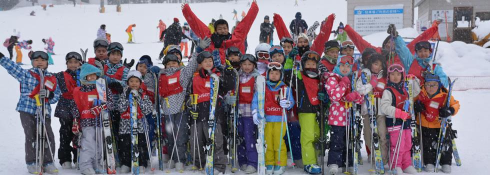 H550S 子供だけのちびっこ日帰りスキー 湯沢高原の写真