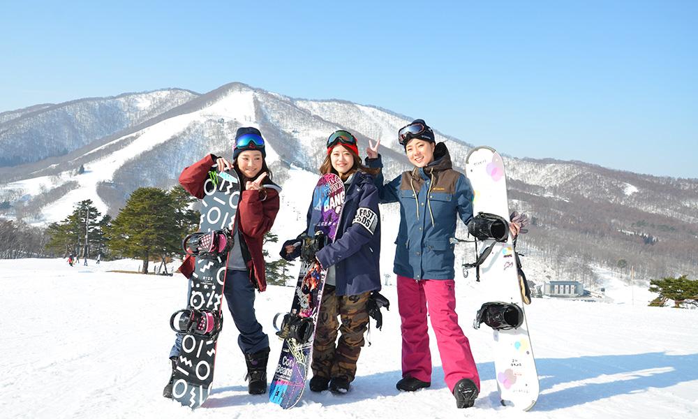 楽々スキー&スノボバスツアーのイメージ