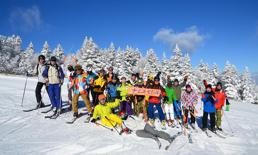 イベント型日帰りスキーバスツアーのイメージ