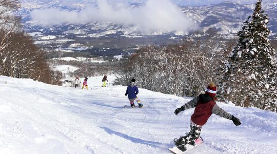 赤倉温泉スキー場のイメージ1