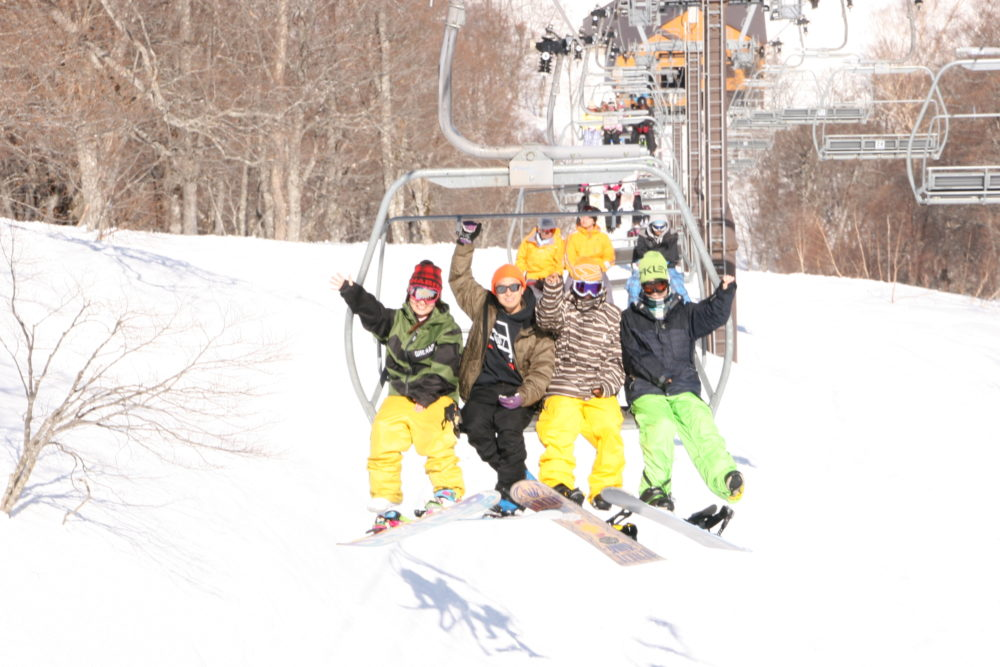 楽々スキーツアー 1.5泊3日 戸隠スキー場の写真