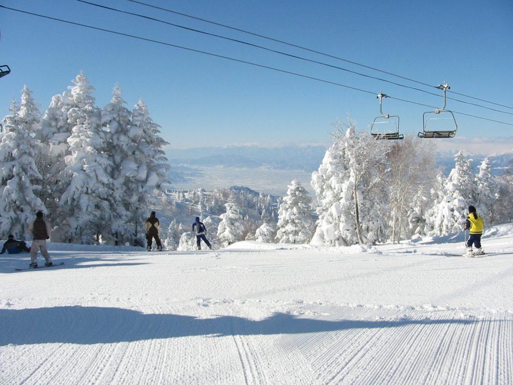 志賀 パーク スキー 高原 北 竜王
