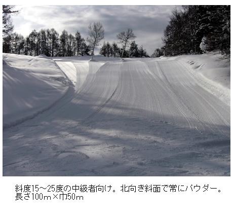 北志賀小丸山スキー場のマイカープランイメージ5