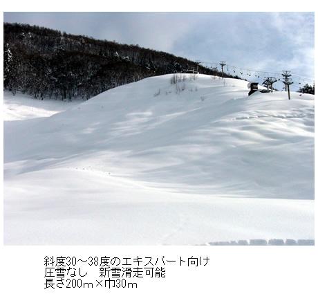 北志賀小丸山スキー場のマイカープランイメージ7